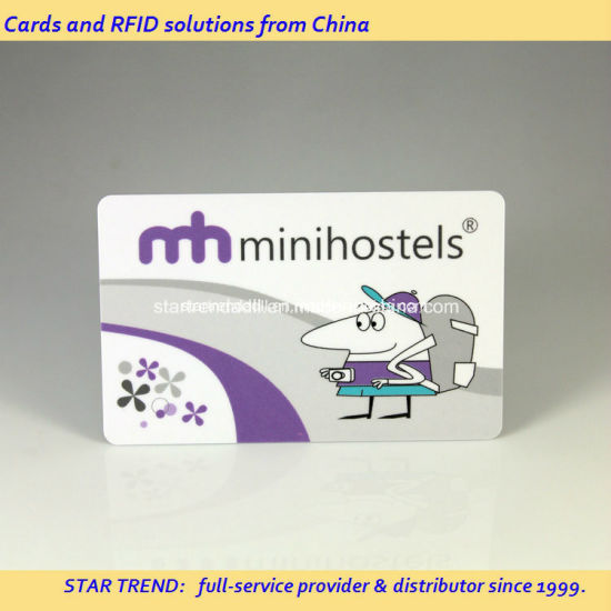 Smart Keycard Made of PVC with RFID Chip for Hotel pictures & photos