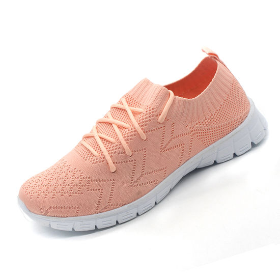 High Quality Kids Sports Shoes with Flyknit Upper pictures & photos