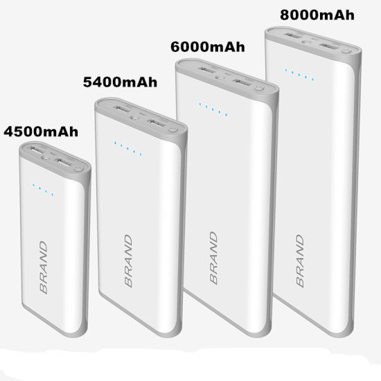 Cheap Mobile Phone Power Bank 8000mAh Portable Charger High Quality pictures & photos