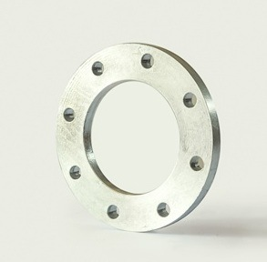 """BS10 Table-D 6"""" Slip on Plate FF with Elec-Galv Flange Pipe Fitting"""
