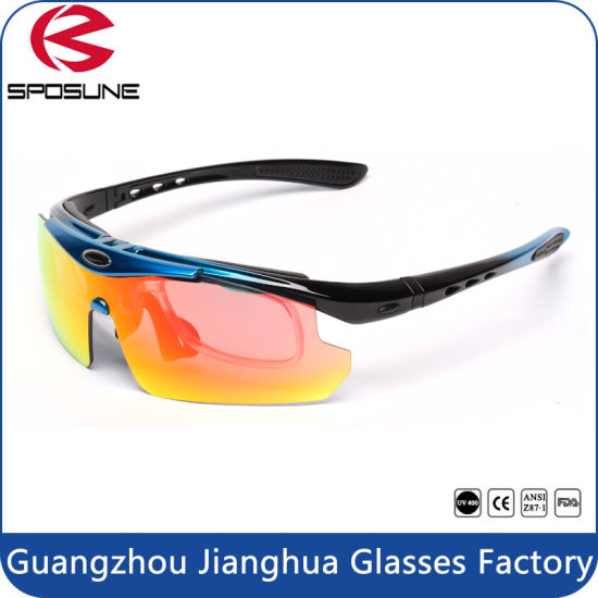 97dec801dcda5 Anti-Scratch Lens Myopia Style Sports Flip-up Sunglasses pictures   photos