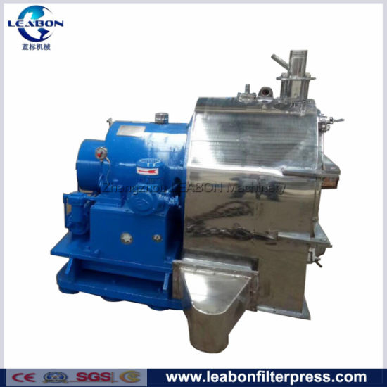 Solid-Liquid Separation Salt Horizontal Two Stage Piston Pusher Filtering Centrifuge