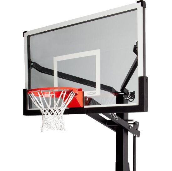 8mm Toughened Tempered Glass Basketball Backboard with Silkscreen Print