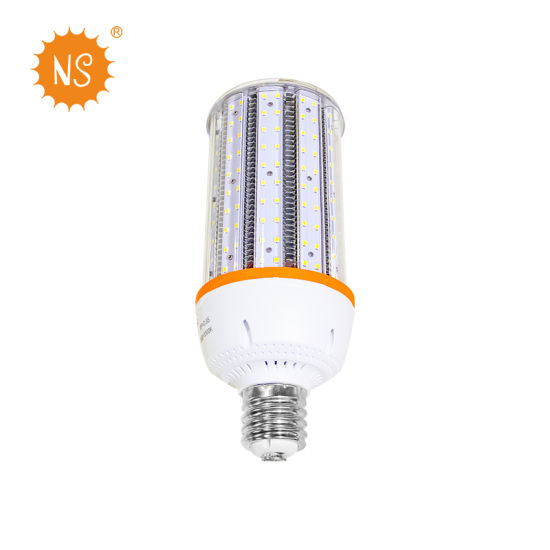 UL Dlc 175W Metal Halide IP65 E40 60W LED Corn Light with Cover Factory Price pictures & photos