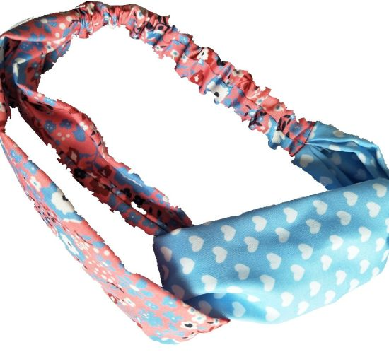 Polyester Fabric Contrast Color Headbands pictures & photos