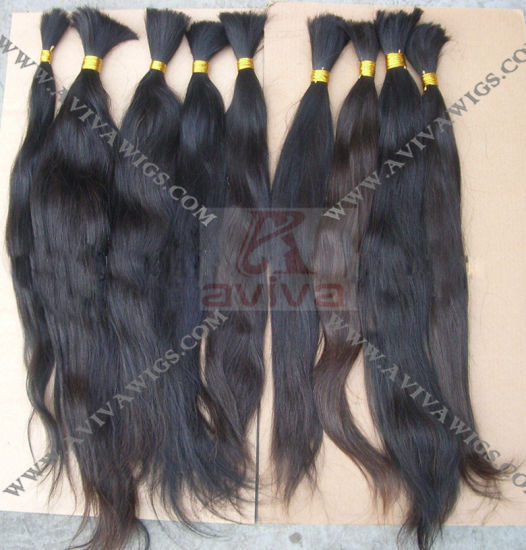 100% Unprocessed Natural Human Hair Extension pictures & photos