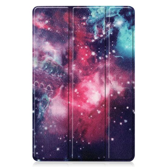 Waterproof Tri-Fold Leather Tablet Laptop Case Cover with Cartoon Pattern Tablet Accessories for Samsung