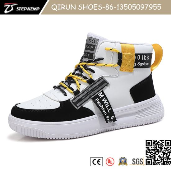 Fashion Casual Lightweight Sneakers Breathable Flat PU Shoe Phylon Sole Soccer Shoes for Men 20s3032