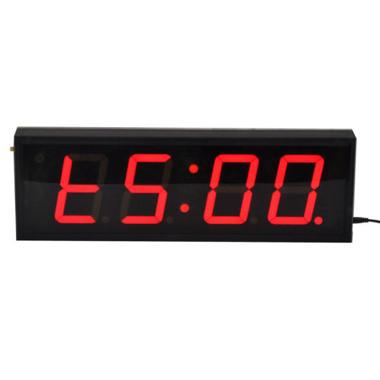4 Inch 4 Digits LED Indoor Interval Timer for Training