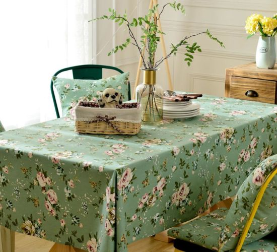 Wholesale High Quality Modern Customized Colorful Tablecloth