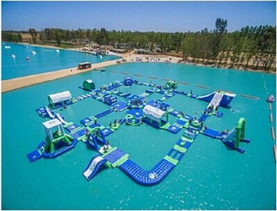 2019 New Most Popular Inflatable Theme Park for Sea