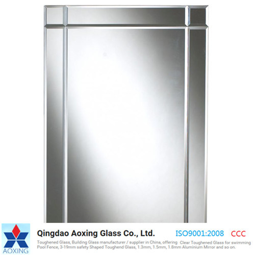 1-3.5mm/3.7mm/4.7mm/5mm /6mm Aluminium/Silver/Copper Free//Unframed/Bathroom /Edge Polished Mirror Glass