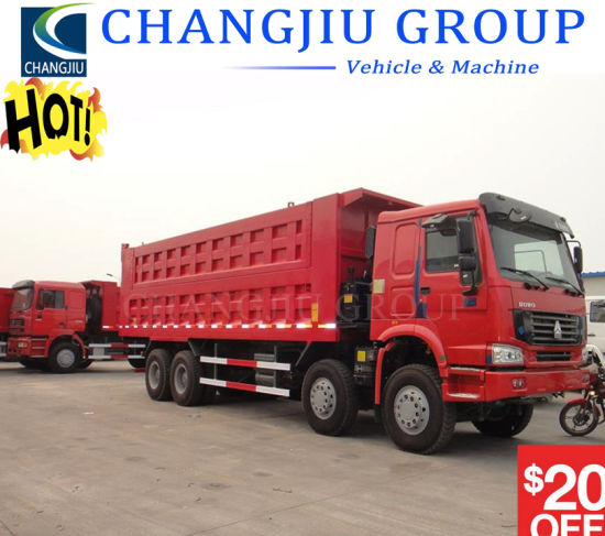 Second Hand Sinotruck HOWO Used 371HP 375HP HOWO 10 Wheels 12 Tyres Dump Truck Tipper Truck 8X4 6X4 with Good Condition for Africa