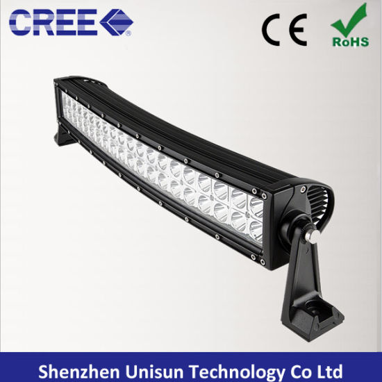 "Waterproof 13.5"" 72W Curved CREE LED off-Road 4X4 Light Bar pictures & photos"