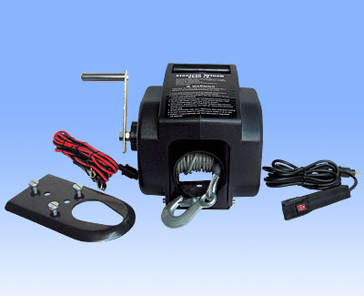 Recovery Trailer 2000lbs Boat Trailer Winch
