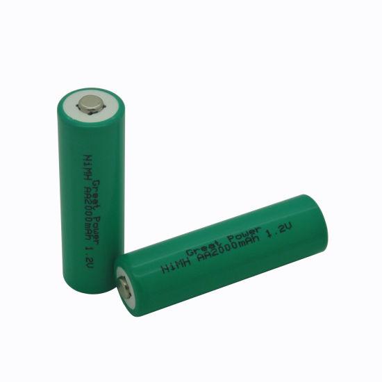 1.2V Rechargeable NiMH Battery H-AA 2000mAh