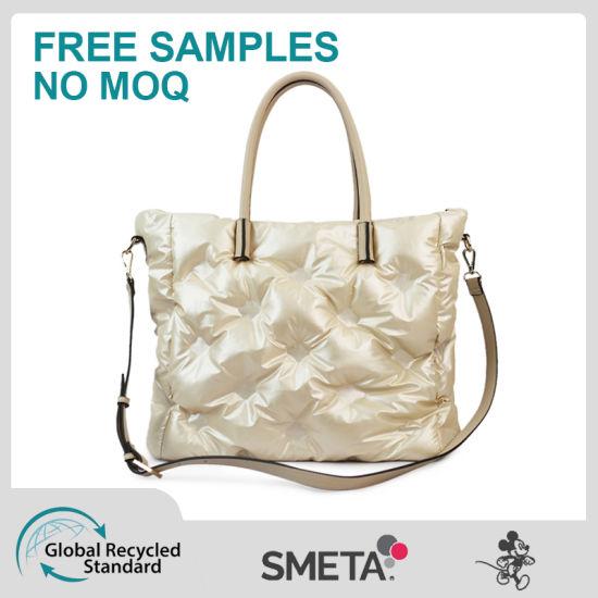 Bubble Cotton Best Selling Handbag Fashion PU High Quality Crossbody Bag