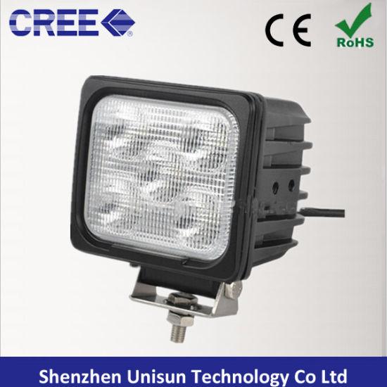 5inch 12V-60V 50W 5X10W 4000lm CREE LED Machine Work Lamps