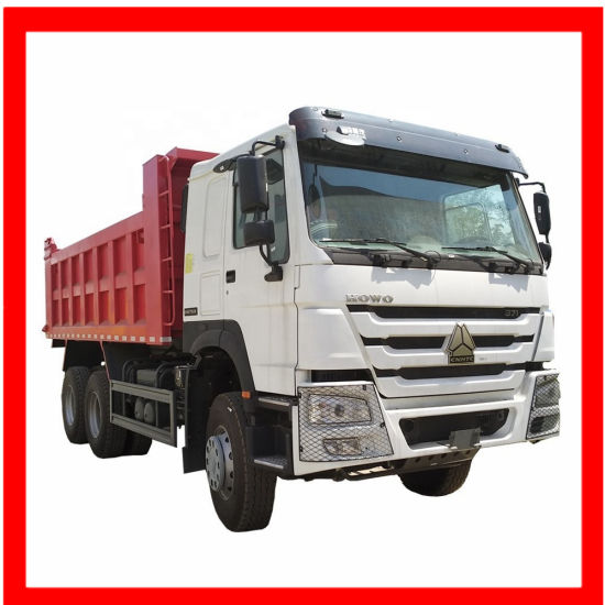 Sinotruk HOWO 8x4 380hp heavy duty used dump truck 15ton
