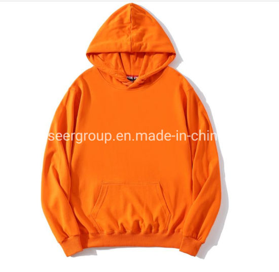 Wholesale/Stock/Autumn/Winter Custom/Customized Logo Cotton/Polyester Casual Blank/Printed/Embroidery Oversized Pullover Men/Women/Unisex Hoody/Hoodies
