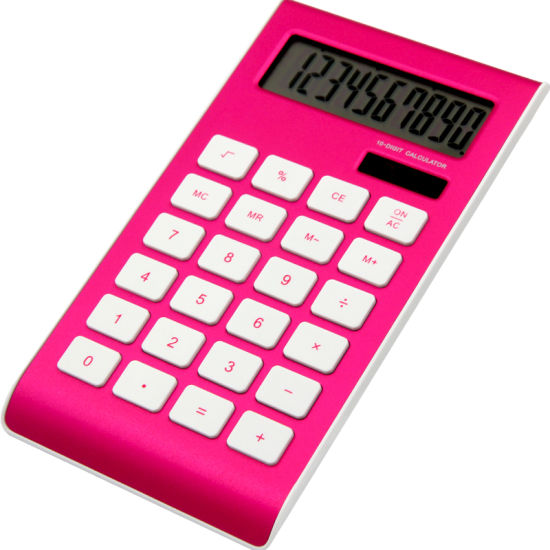 Portable 10 Digits Electronic Calculator Office Supply Stationery