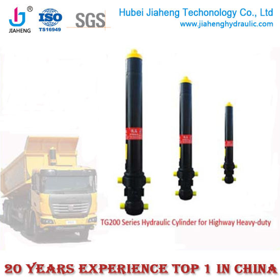 Standard Jiaheng brand telescpic front end dump truck Hydraulic Cylinder for mining Machinery
