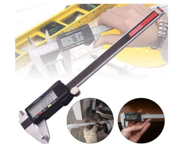 Stainless Steel Digital Caliper Vernier Micrometer Electronic Ruler Gauge Meters