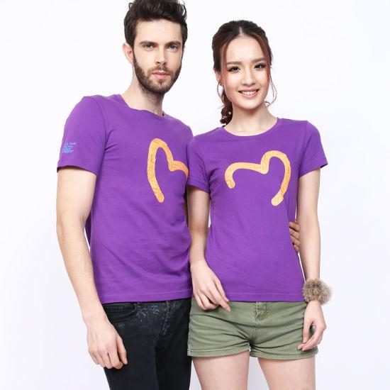 Unisex Custom Logo Silkscreen Printing Cotton 100% T Shirt