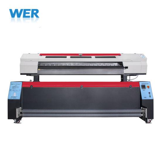Cheap Price 1.8m with Epson Dx5 Head Sublimation Textile Printer, Dye Sublimation Printer