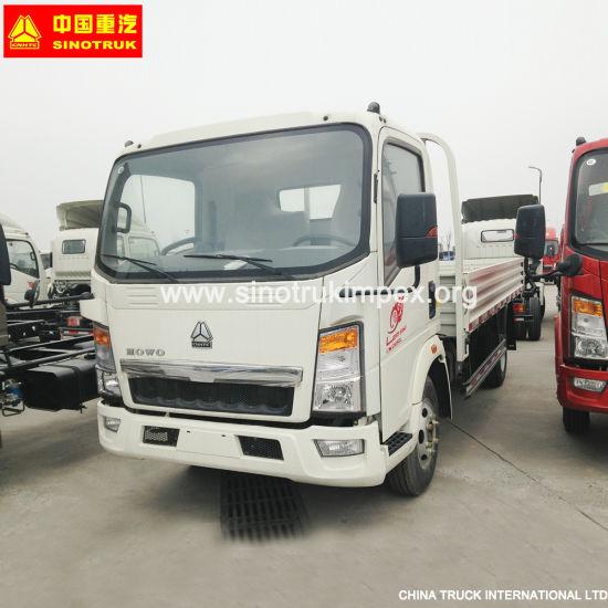 Hot Sales Sinotruk HOWO Euro2 4X2 8ton Light Cargo Truck/Lorry Truck