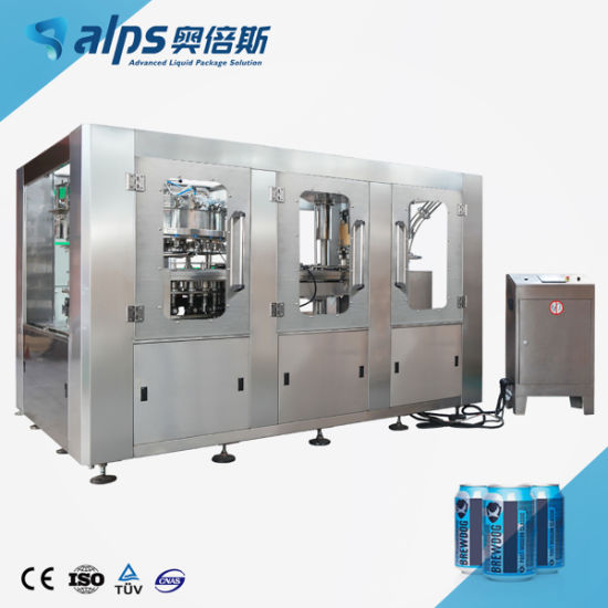 Aluminum Pet Can Juice Filling and Canning Machine