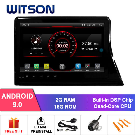 Witson 10 2 Inch Screen Car DVD Player Navigation for Toyota Sienta