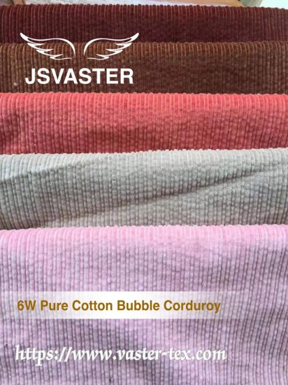 6W Pure Cotton Bubble Corduroy