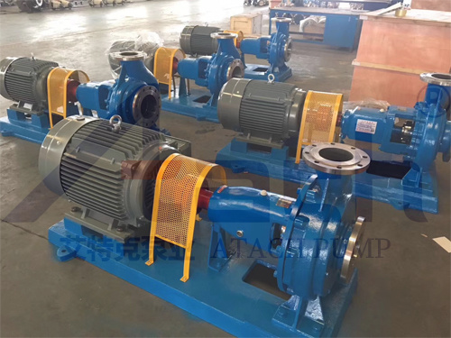 Ih65-50-125 Stainless Steel Chemical Centrifugal Pump with Water Cooling Device