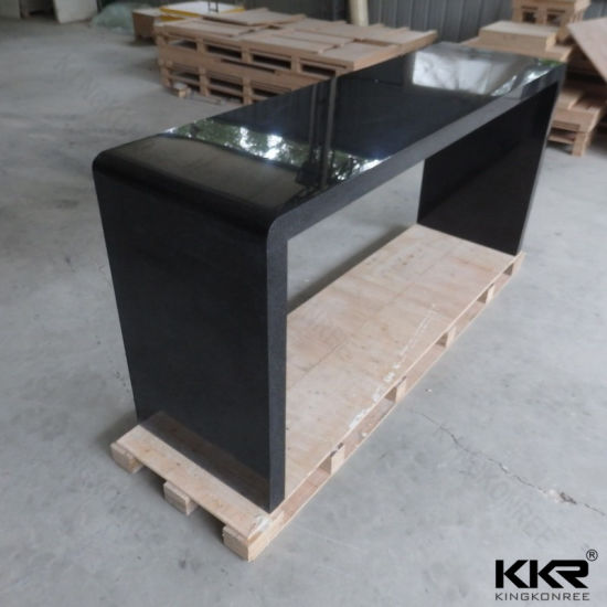 Modern Furniture Artificial Stone Repairable Marble Solid Surface Bar Counter Table