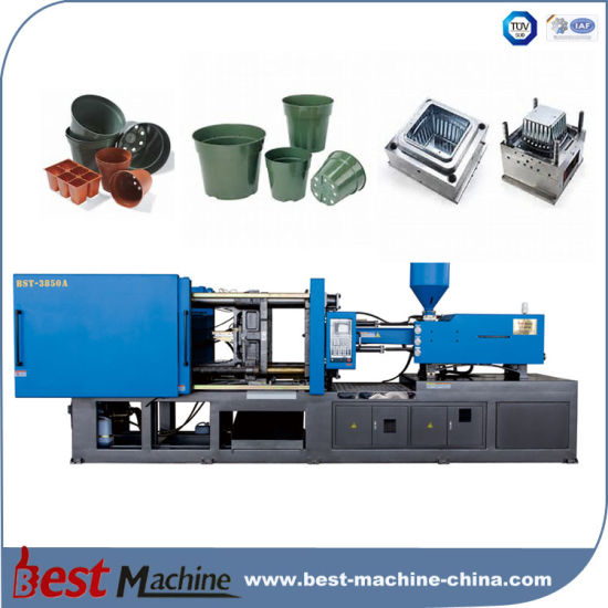 Best Quality Flower Pot Plastic Making Injection Moulding Machine