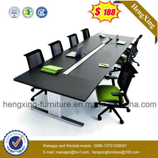 Luxury Glass Panel  Big Sale Conference Table (HX-5DE165) pictures & photos