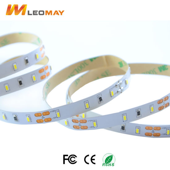 Flex SMD3014 60LEDs/m colors 3000K/6000K DC12V LED strip light pictures & photos