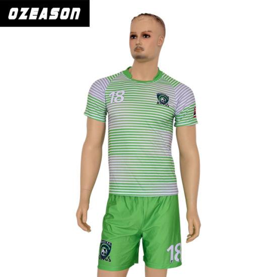 2017 Custom Sportswear Wholesale Men's Sublimation Soccer Jersey (S001)
