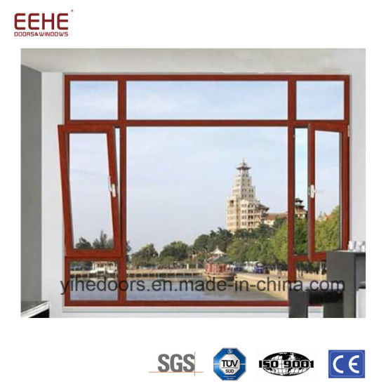 China Swing Out Aluminum Glass Shutter Window For Balcony China