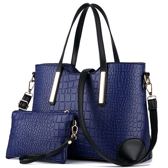 9664e217c8ae6 2017 Hote Sell Women Leather Tote Bag Fashion Ladies Handbags pictures &  photos