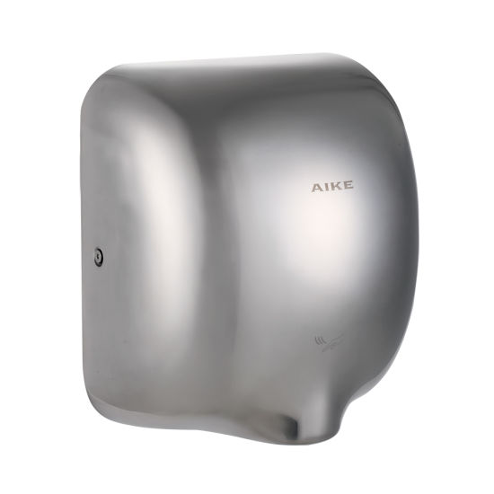 AK2801 Recessed Hand Drying Machine Bathroom Toilet High Speed Stainless Steel Jet Air Hand Dryer pictures & photos