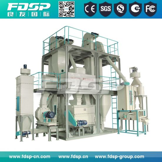 Space Saving Modular Type Poultry Feed Premix Processing Set pictures & photos