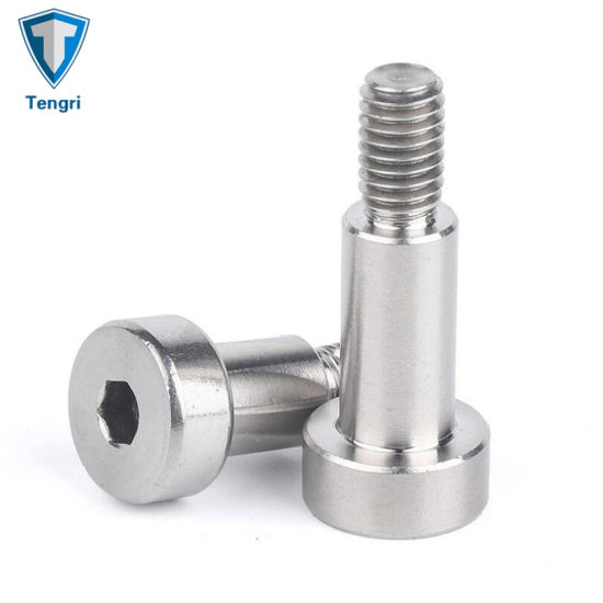 18-8 Stainless Steel Thread Size M10-1.5 Precision Shoulder Screw