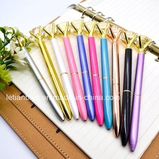 Promotion Gift Crystal Diamond Metal Pen Wedding Pen (LT-E119) pictures & photos