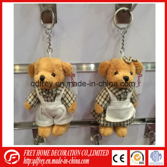 Ce Promotional Gift of Teddy Bear Keychain Toy pictures & photos