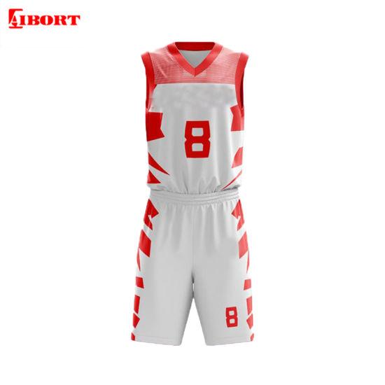 Aibort Youth Sportswear Team Set Sublimated Basketball Uniforms (L-BK-32)