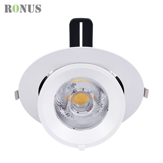 LED COB Spotlight Recessed High Quality Shop 7-40W Spot Light Lamp Ceiling Indoor Lighting Downlight