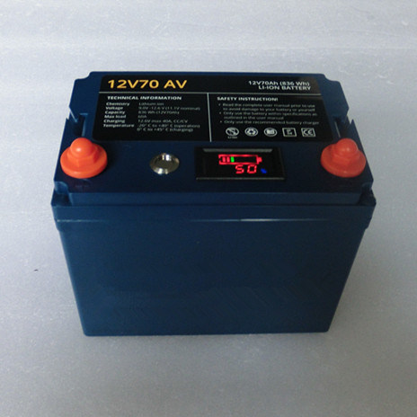 High Quality Lithium Battery Pack 11.1V 70ah for Analina Battery