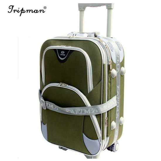 Compeive Sd Silk Outside Trolley Travel Suitcase Set Bag With Five Eight Wheels Eva Luggage
